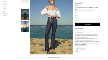 Violante Nessi built using WordPress and WooCommerce by Convoy Media